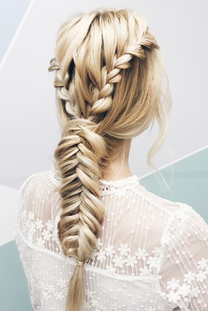 Fishtail Braid Hairstyle