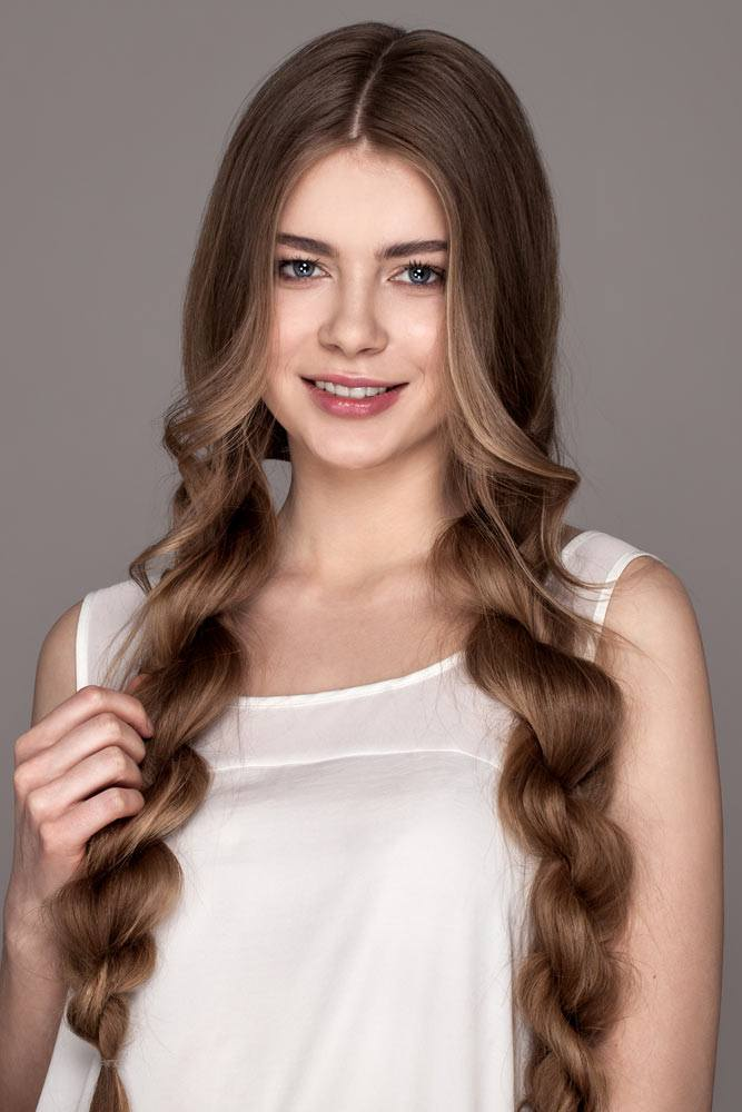 Twisted Braids Hairstyle