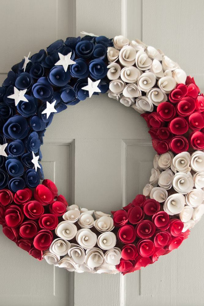 Front Porch 4th of July Decor