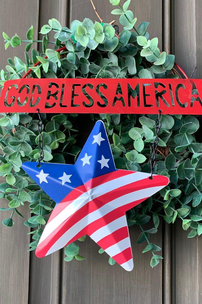 4th of July Door Decoration