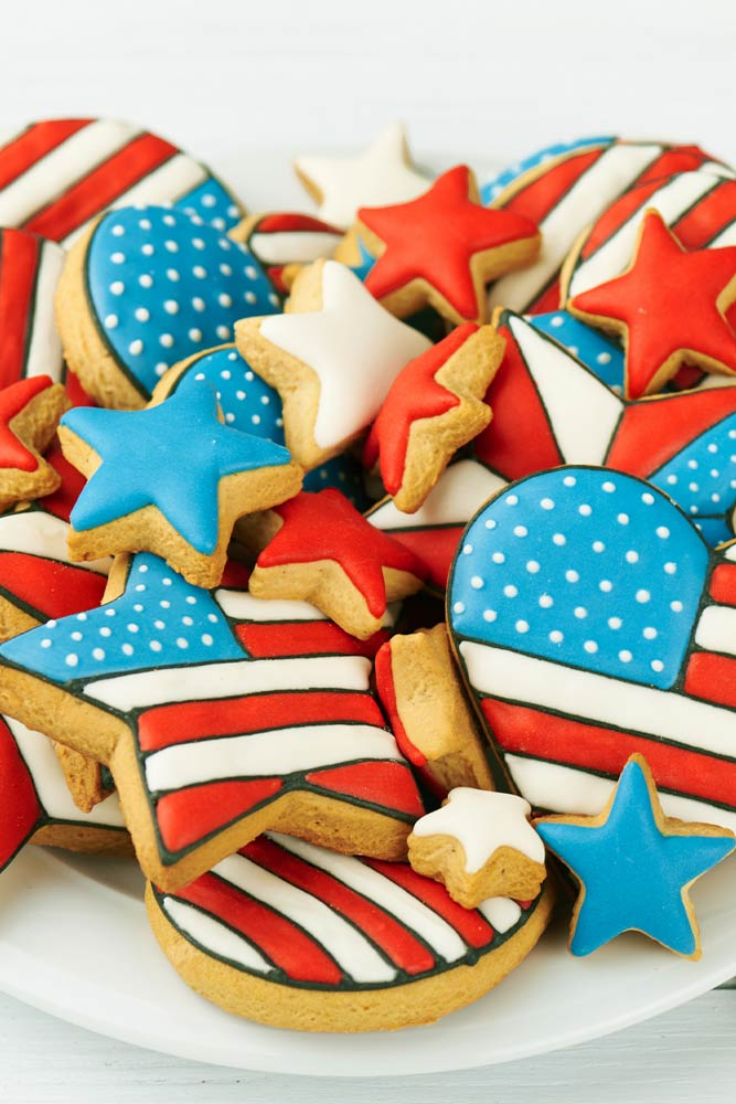 Cookies for 4th of July Day