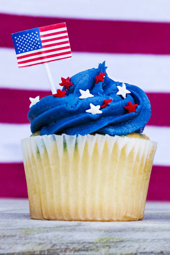 Cupcake Idea for 4th of July