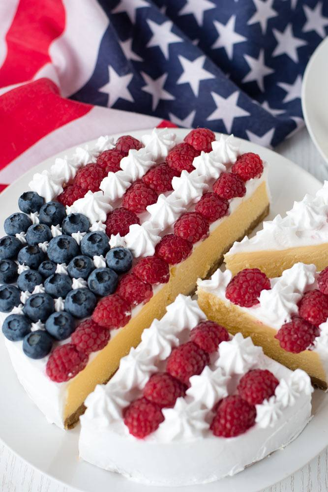 Independence Day Theme Pie