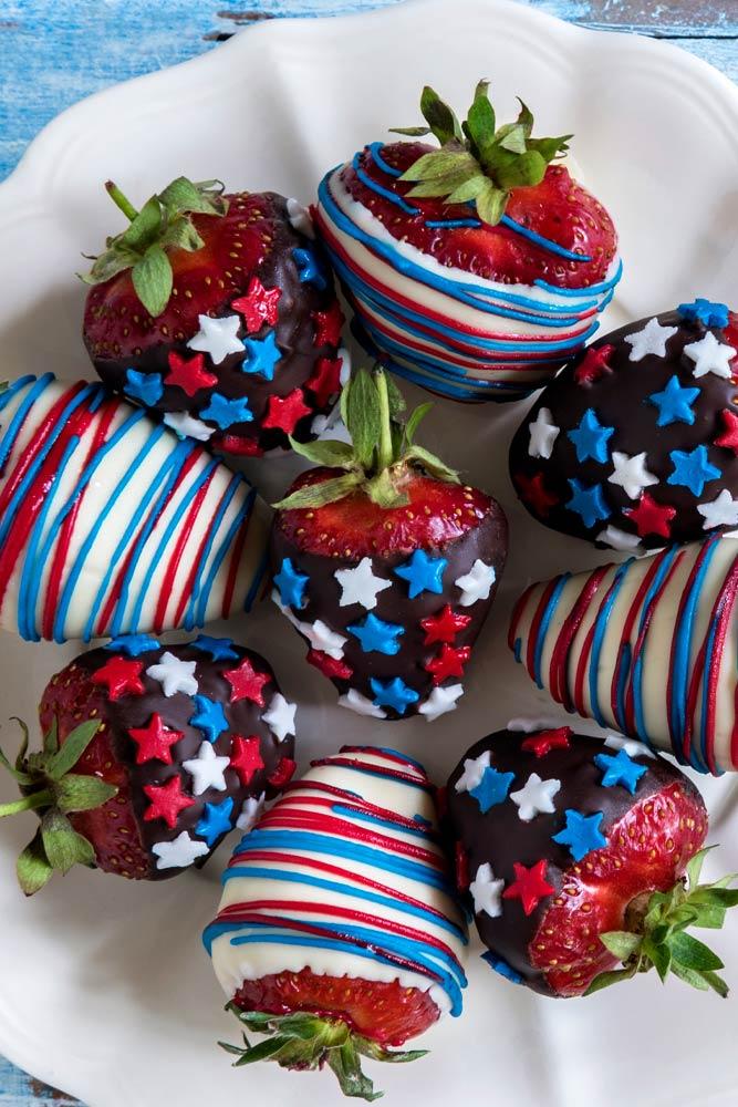 Strawberry with Chocolate Dessert