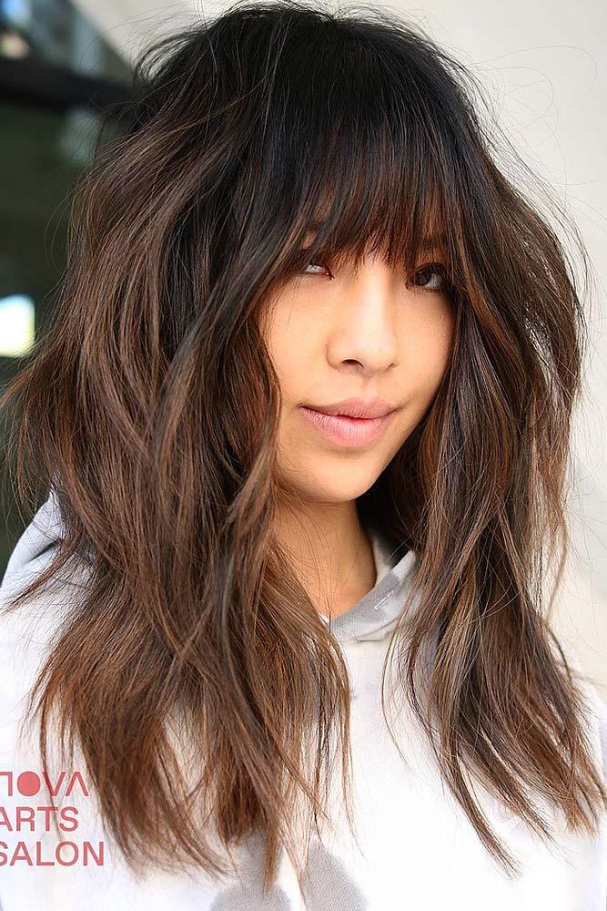 Messy Balayage Hair