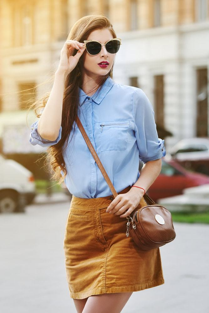 Mini Skirt with Shirt Outfits