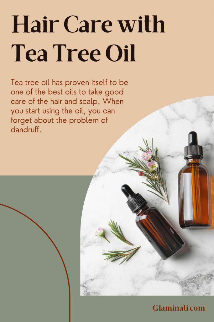 Hair Care with Tea Tree Oil