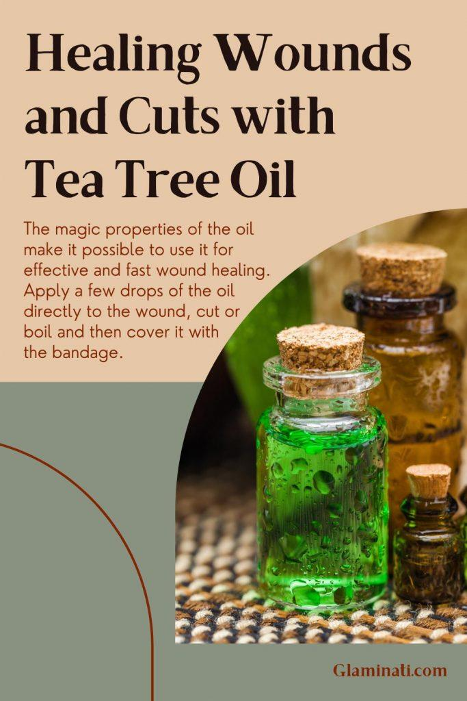 Healing Wounds and Cuts With Tea Tree Oil