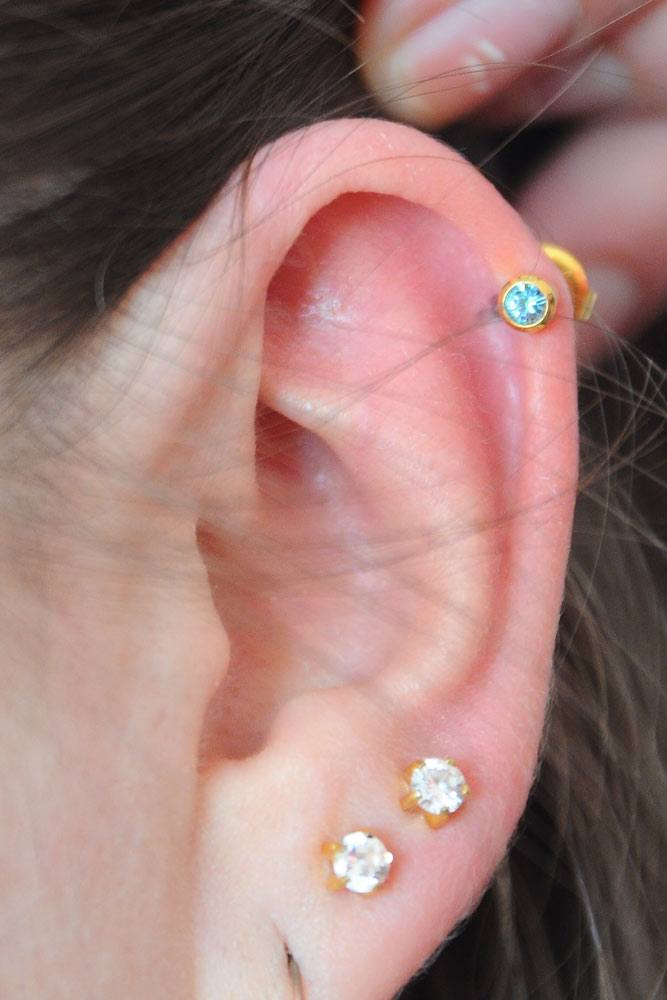 How To Care For Helix Piercing?