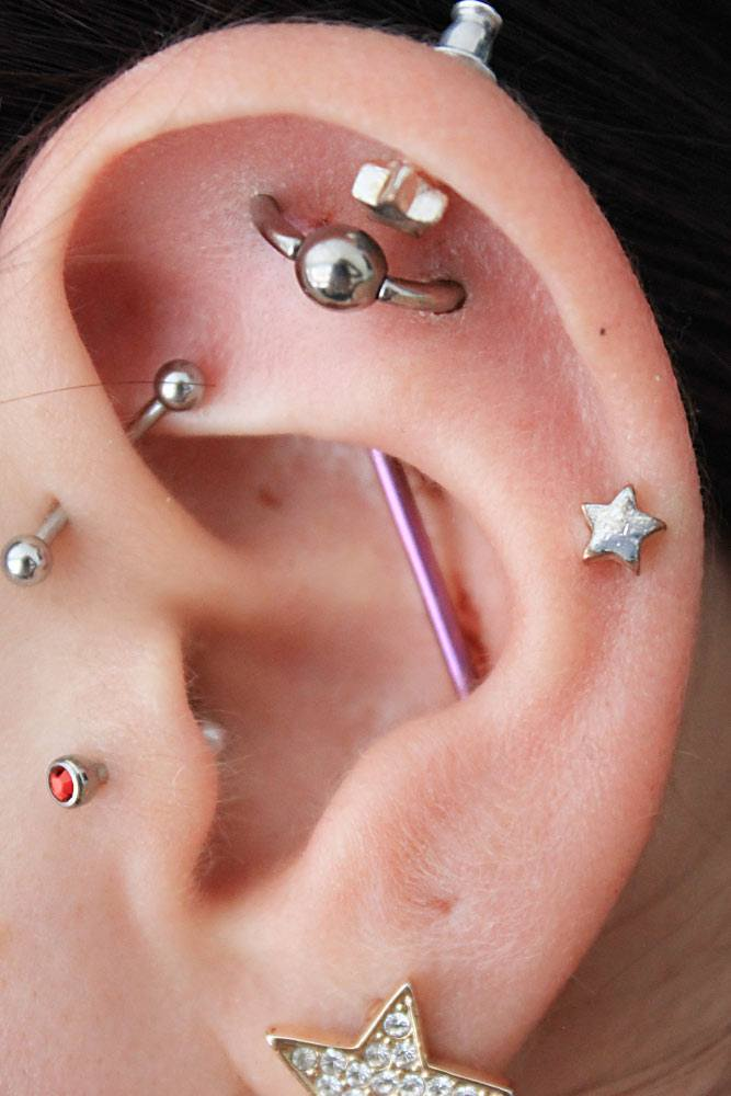 The Cost of Helix Piercing