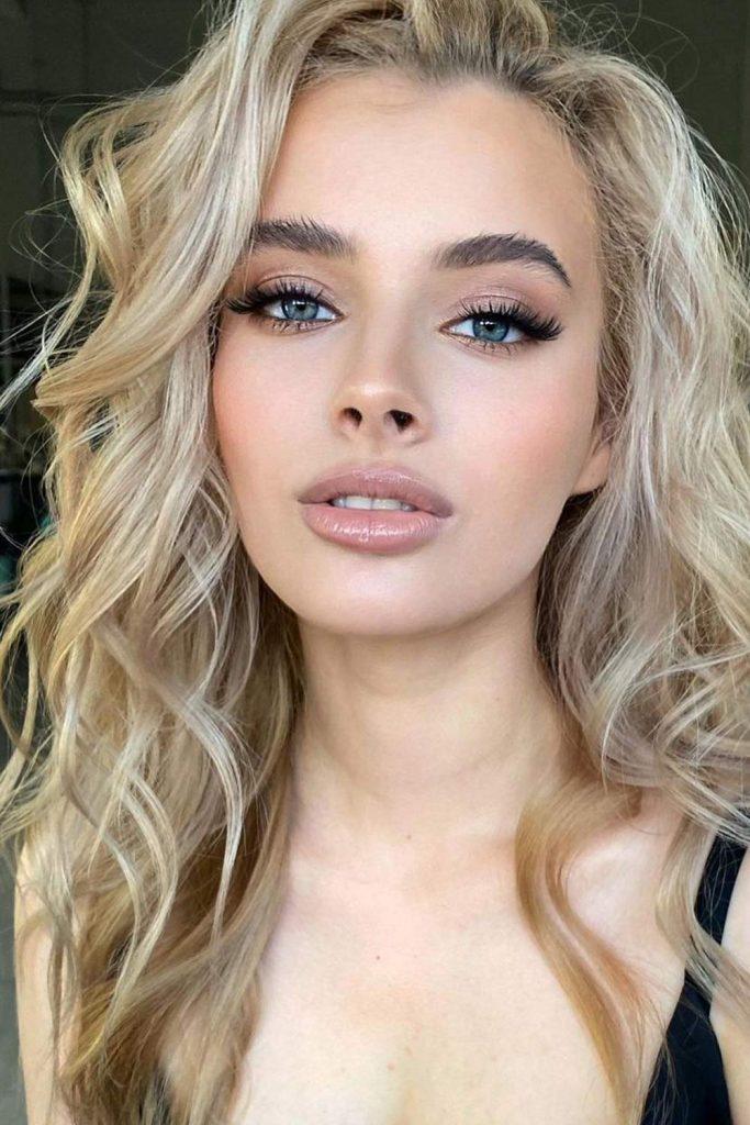 Homecoming Makeup Idea