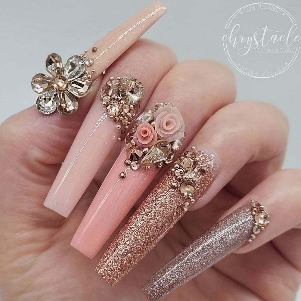 Bling Nail Design