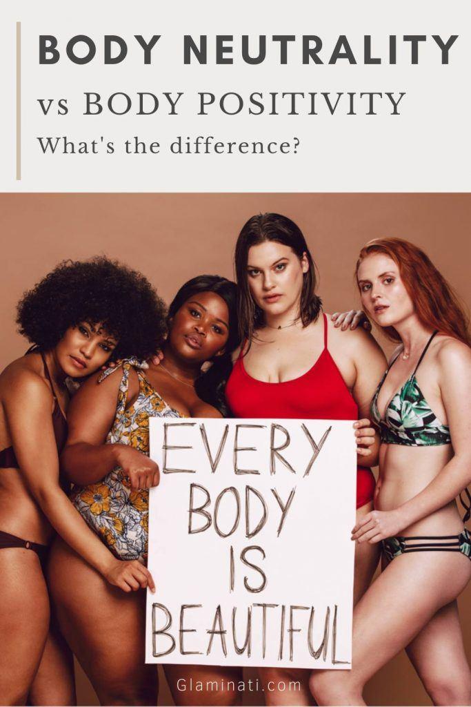Body Neutrality VS Body Positivity
