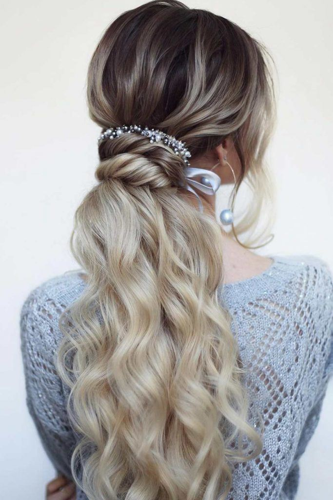 Homecoming Ponytail Hairstyle