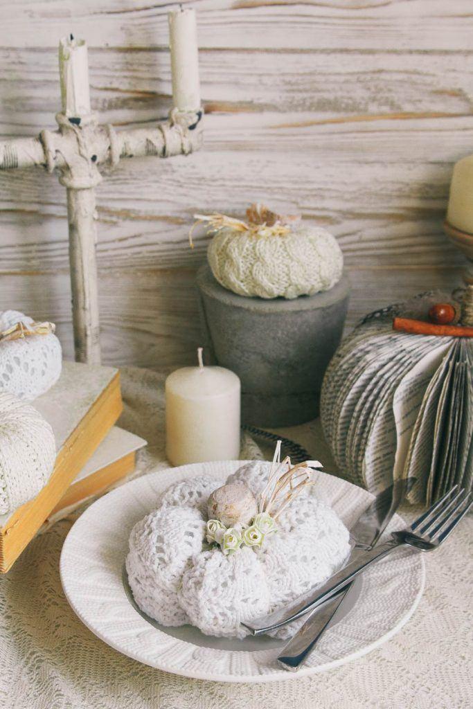 DIY Pumpkins Decor Idea