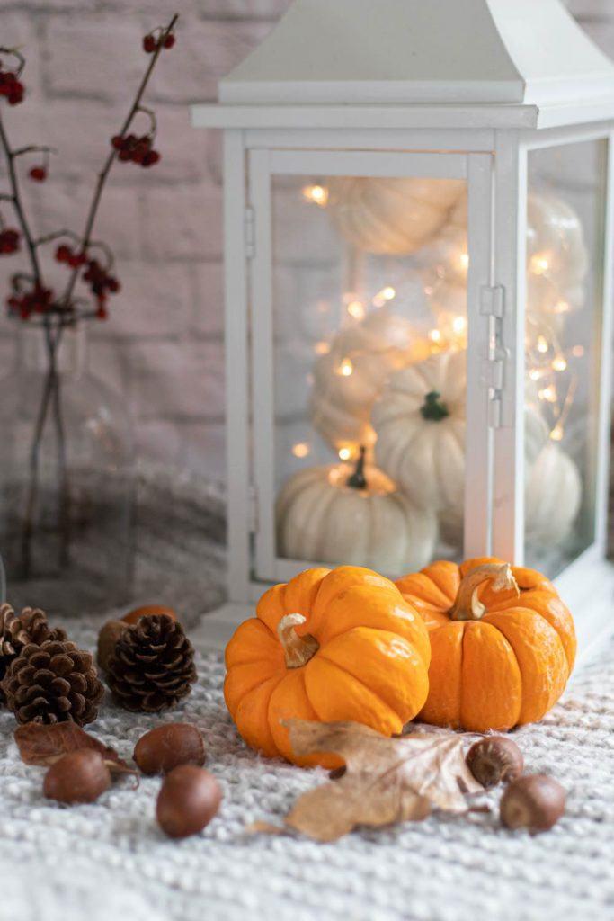 Home Decor with Pumpkins