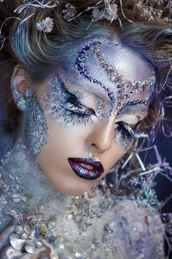 Frosty Ice Queen Makeup