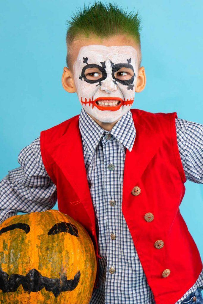 Joker Halloween Costume for Boy