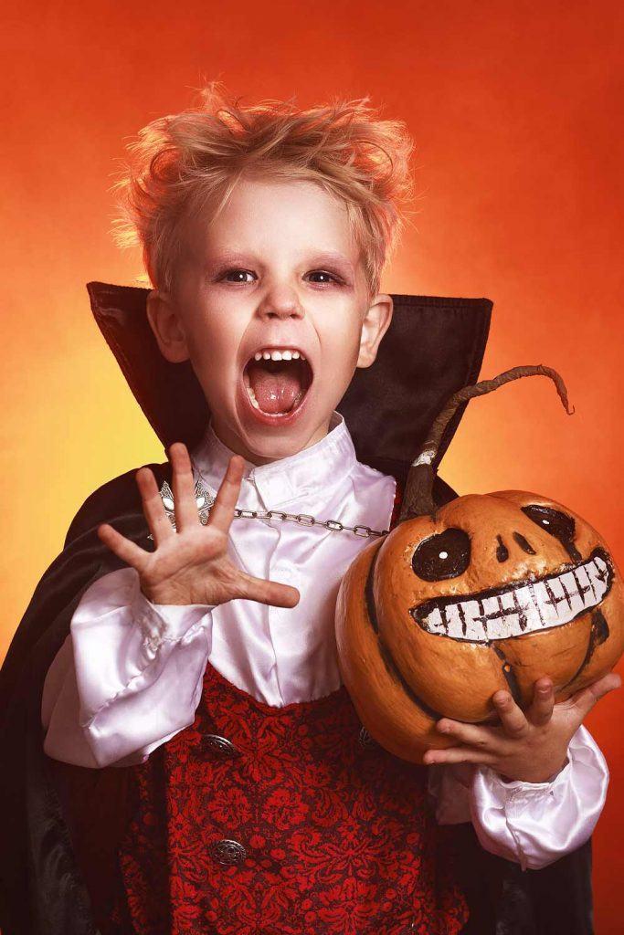 Vampire Costume for Halloween