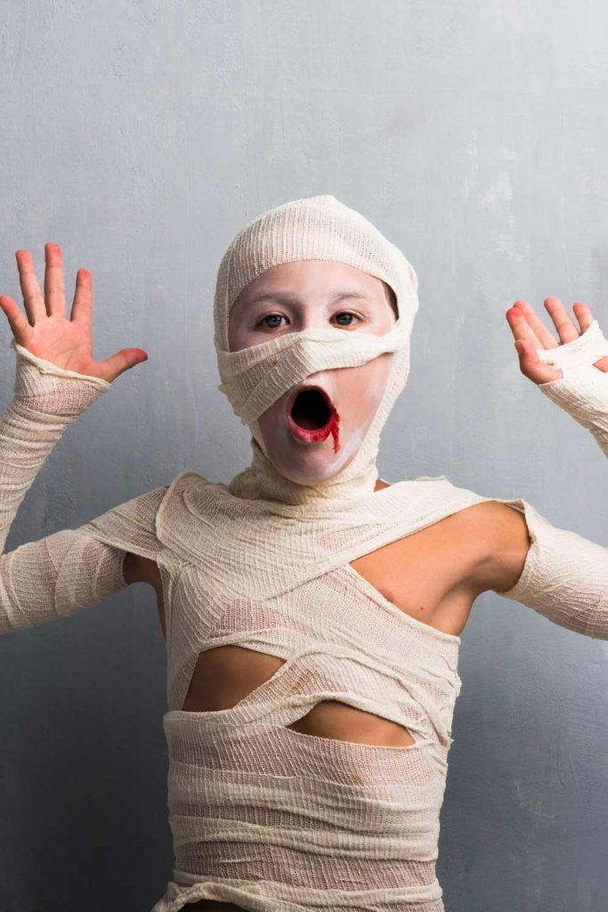 Mummy Costume Idea for Boy