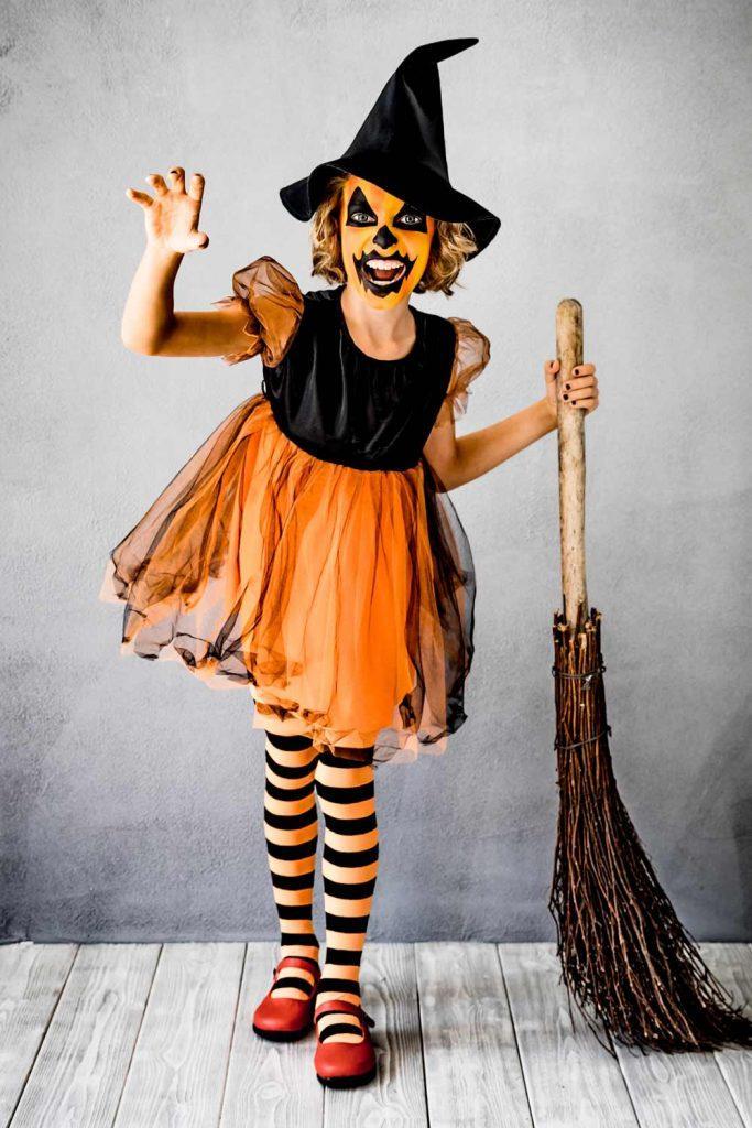 Crazy Pumpkin Halloween Costume