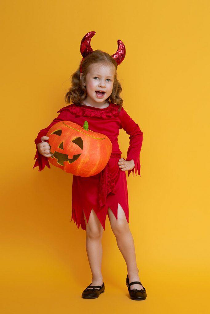 Cute Devil Girl Costume