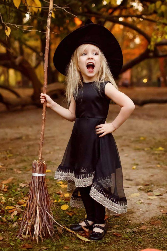 Witch Halloween Costume for Girl