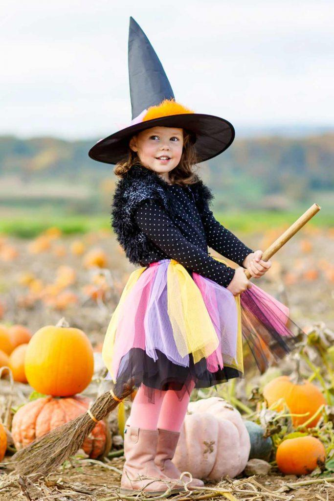 Cute Witch Costume for Girl