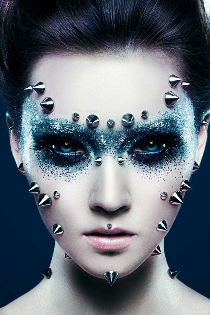 Scary Demon Halloween Makeup