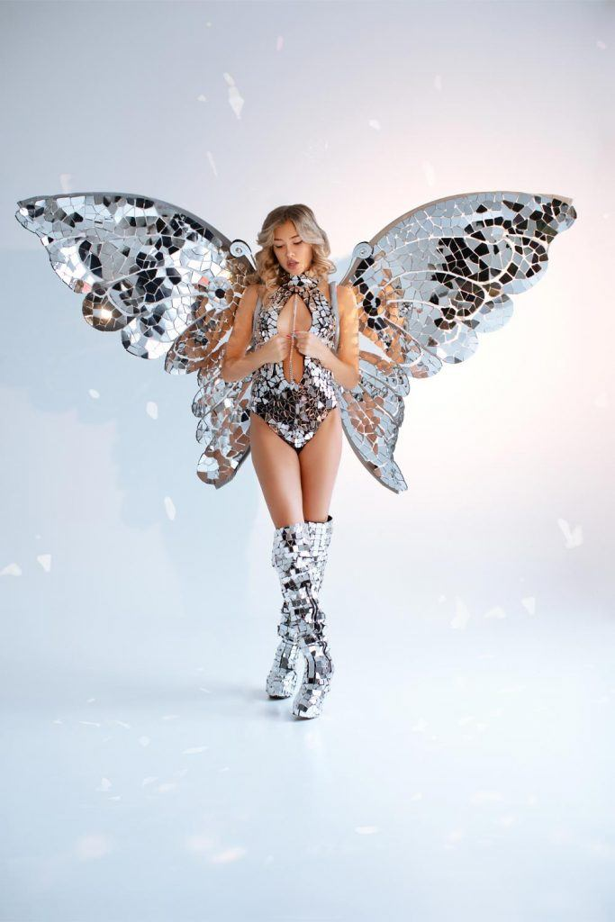 Sparkly Butterfly Sexy Halloween Costume