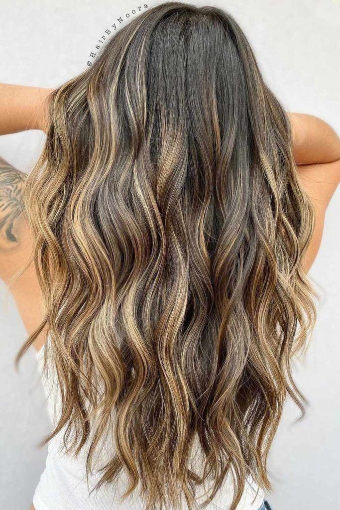 Balayage Hair with Highlights