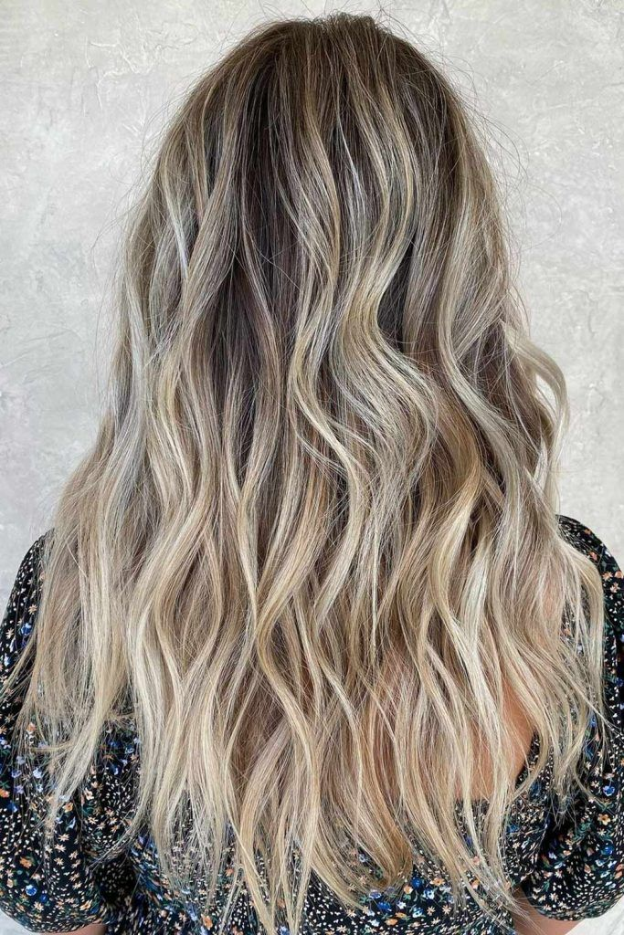 Long Hair with Balayage