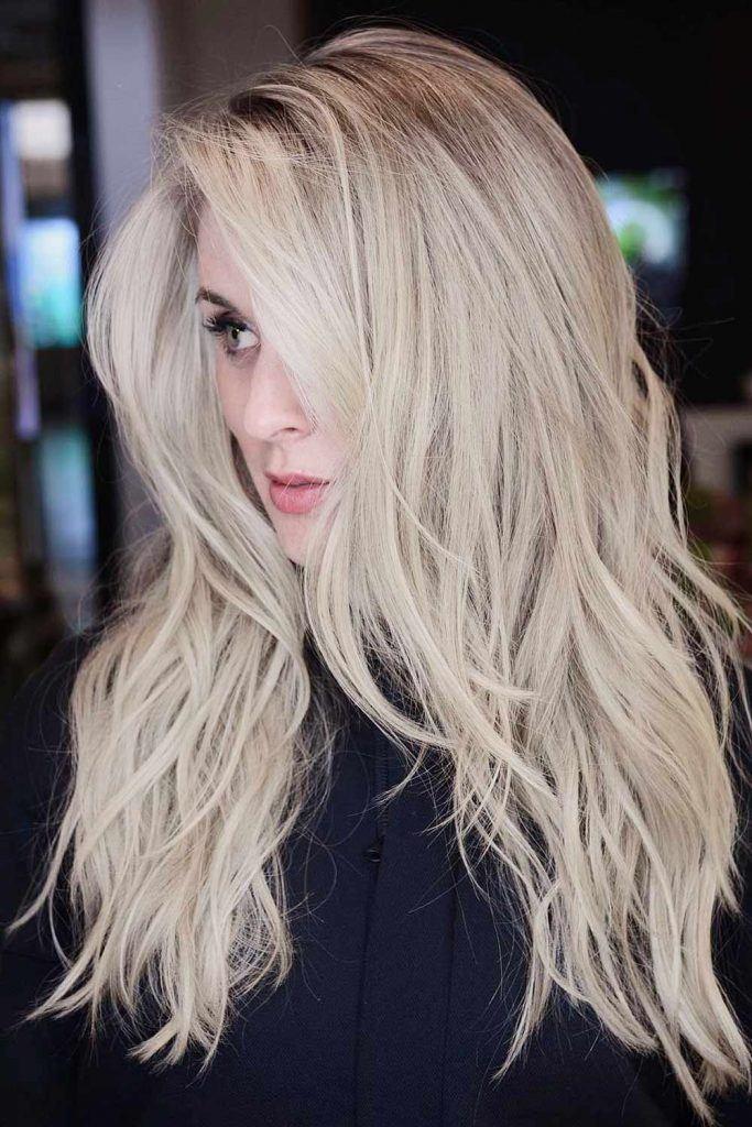 Dirty Blonde Layered Haircut