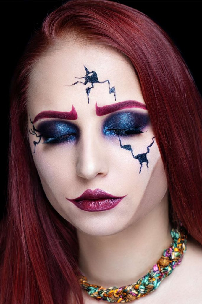 Makeup Idea for Halloween